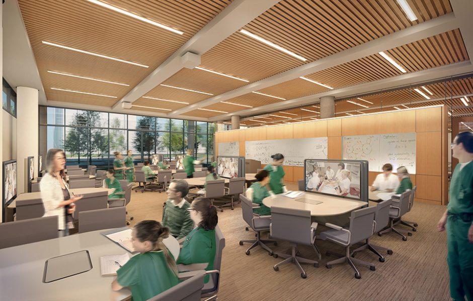 University Of Alabama At Birmingham School Nursing Addition Renovation