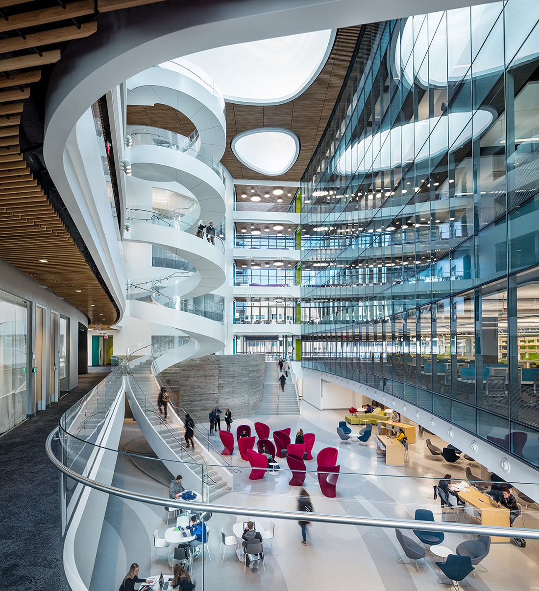Northeastern Isec Featured In Architectural Record Payette