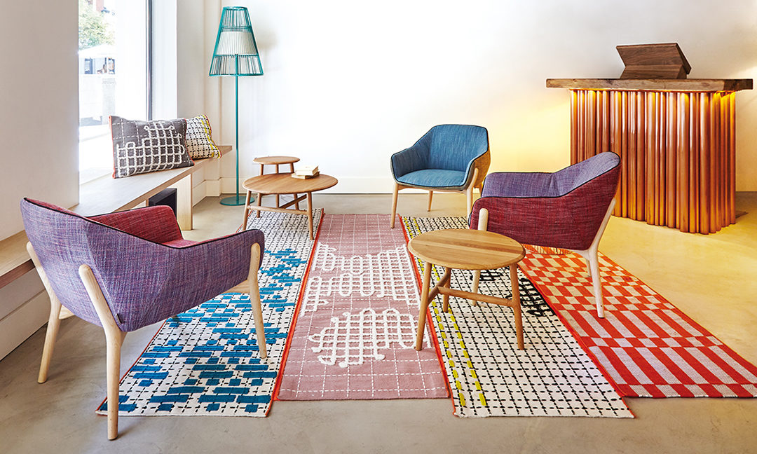 The BANDAS Collection From GAN Rugs Can Be Interchanged To Be Adapted To  Any Space, Personality Or Mood.
