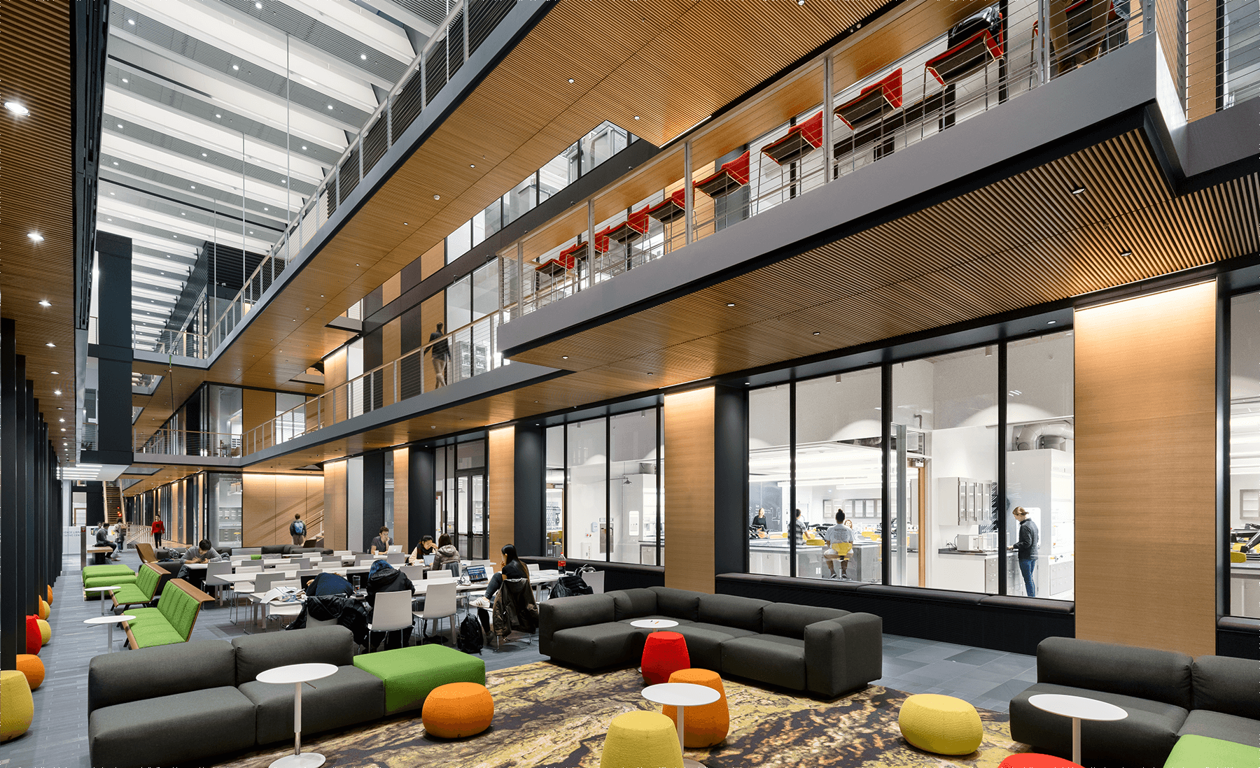 Spotlight On Interior Design Creating A Campus Destination Payette