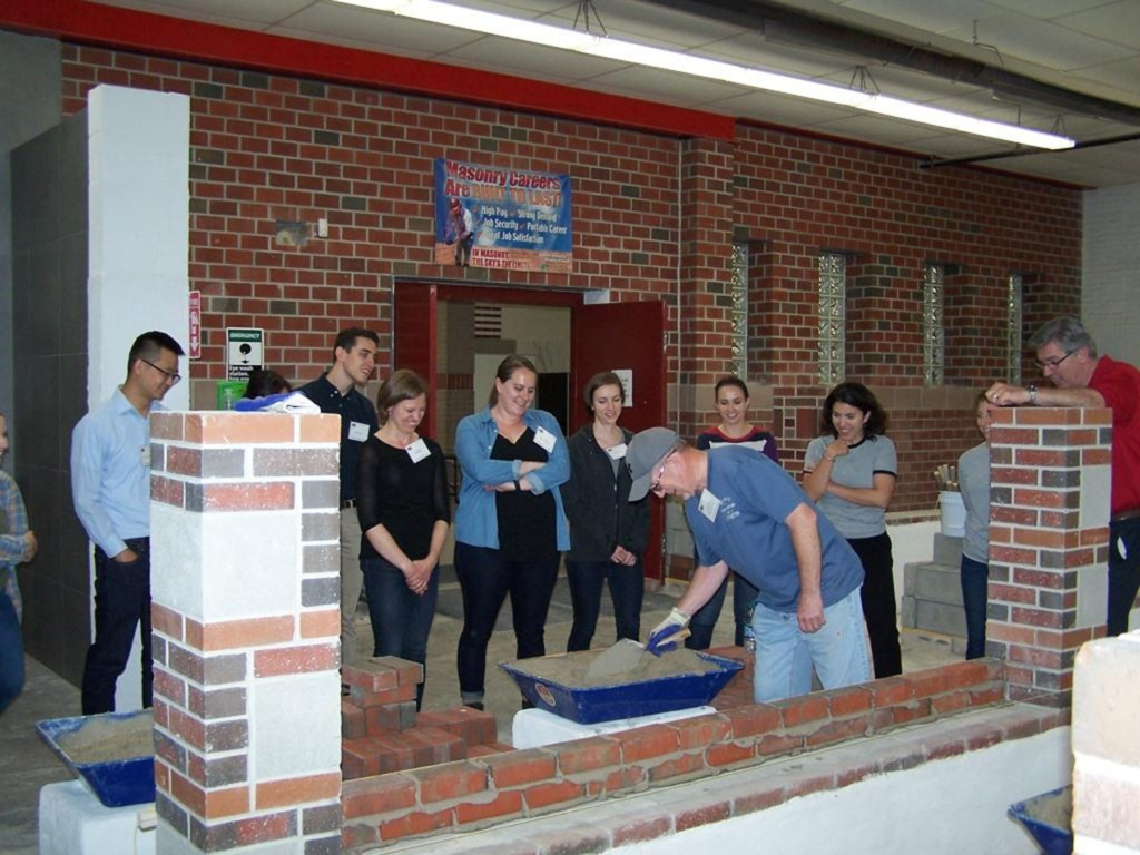 YDC Tour: The Art of Bricklaying – Payette